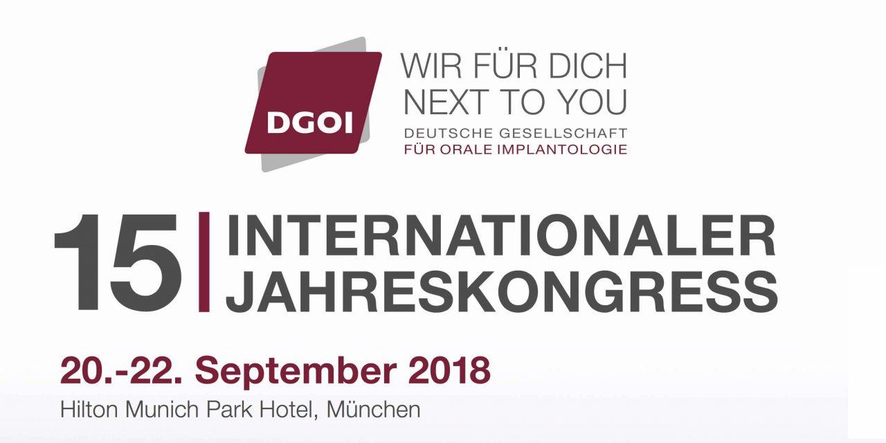 15. Internationaler Jahreskongress der DGOI