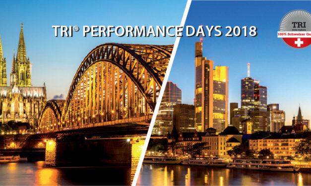 Tri Perfomance Days in Köln und Frankfurt
