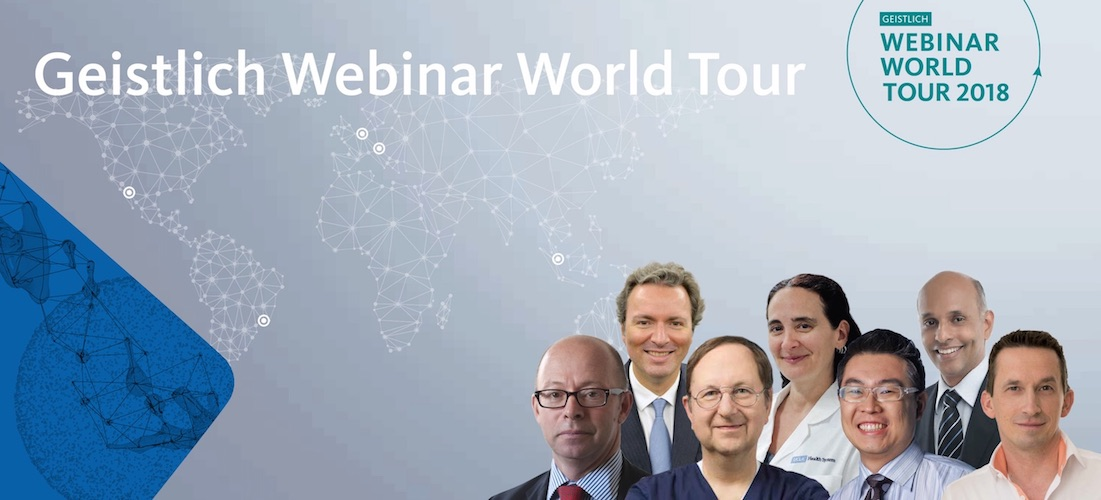 Geistlich Webinar World Tour 2018