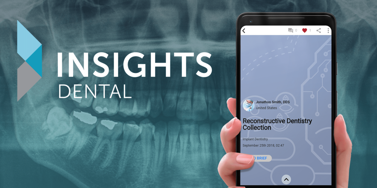 Wissen to go! Die Insights Dental App