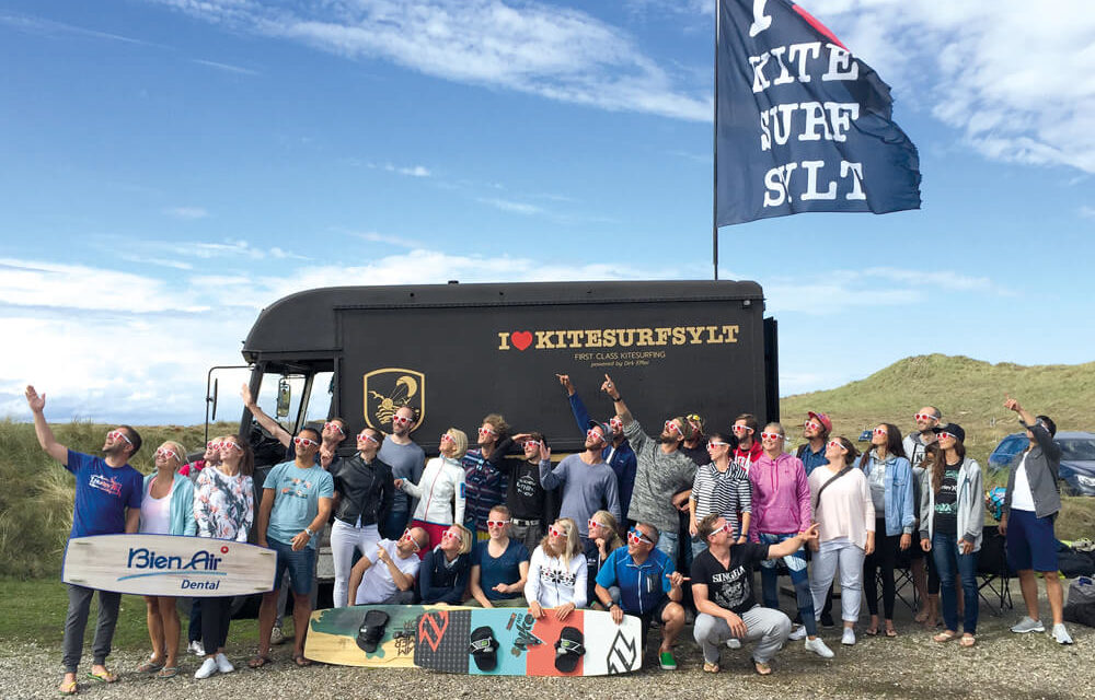 Kite & Education – Chirurgische Highflyer auf Sylt