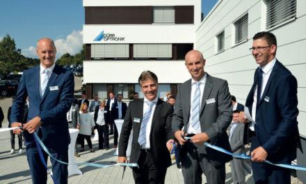 Feierliche Neubau–Einweihung von Dürr Optronik in Gechingen