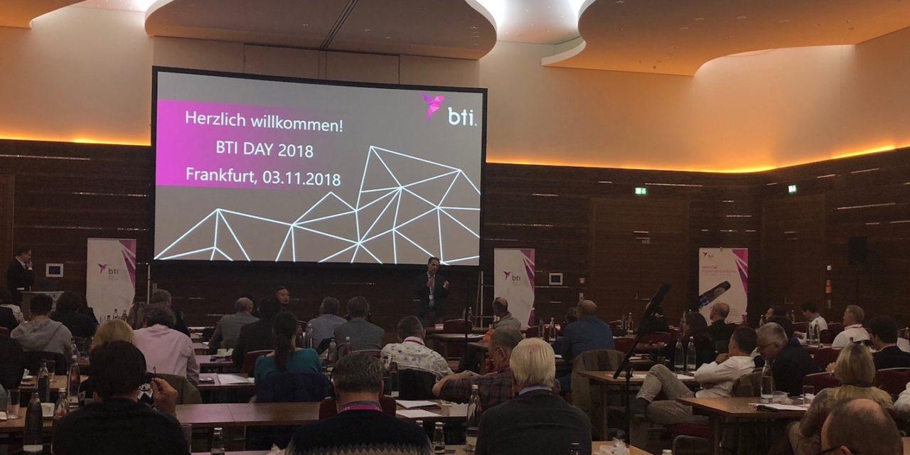 BTI-Day 2018: Neuheiten für den Zahnarzt – Lösungen für den Patienten