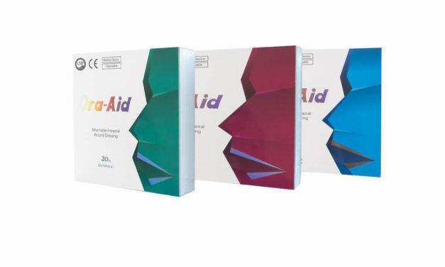 Ora-Aid: Pflasterinnovation für die orale Wundtherapie