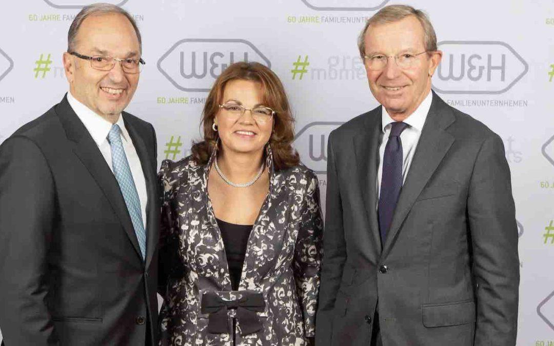 60 Jahre Familienunternehmen – W&H feiert großes Jubiläum