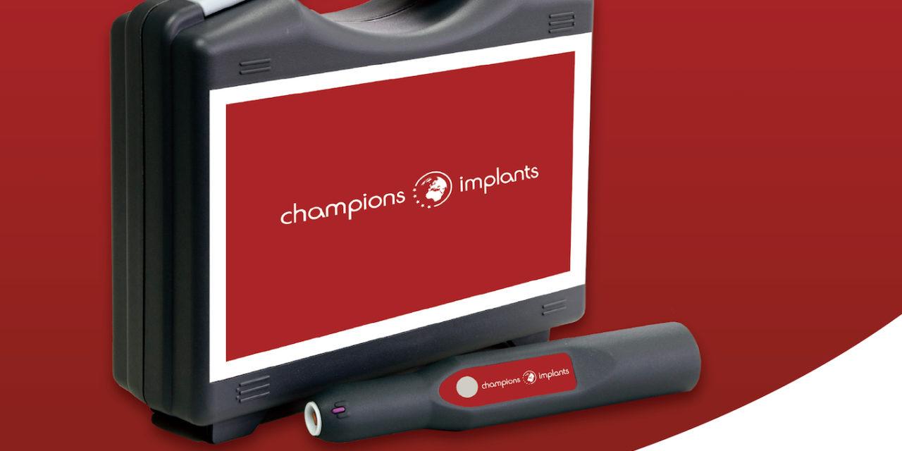 Champions Kaltplasma-Aktivator für Keramik-Implantate
