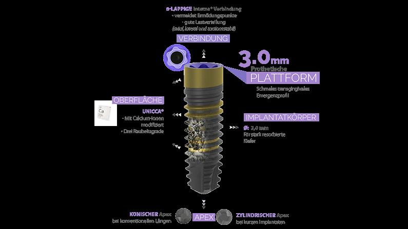 Das neue BTI 3.0 Implantat