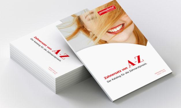 """""""Zahnersatz von A-Z"""" – der Katalog"""