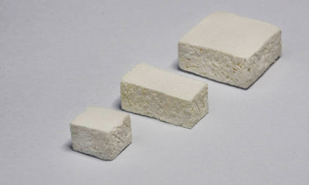 OSSIXBone – neuartiger Knochenschwamm aus Ribose-kreuzvernetzem Kollagen zum gesteuerten Knochenaufbau
