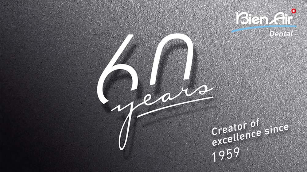 This year Bien-Air Dental celebrates 60 years of innovation!