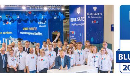 Blue Safety: Seit neun Jahren für die Wasserhygiene
