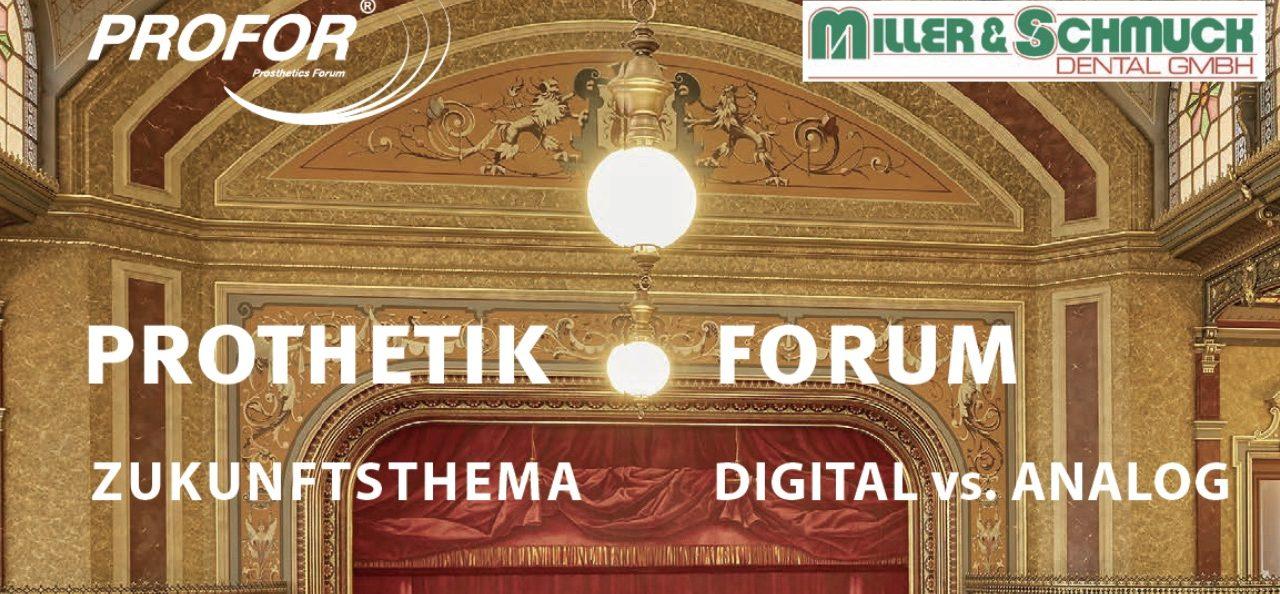 ProFor Prothetiksymposium 2019 in Augsburg