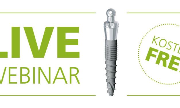 Live-Webinar: Prothesenfixierung mit Mini-Implantaten