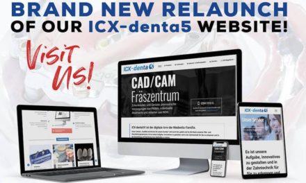 Neue Website für ICX-denta5
