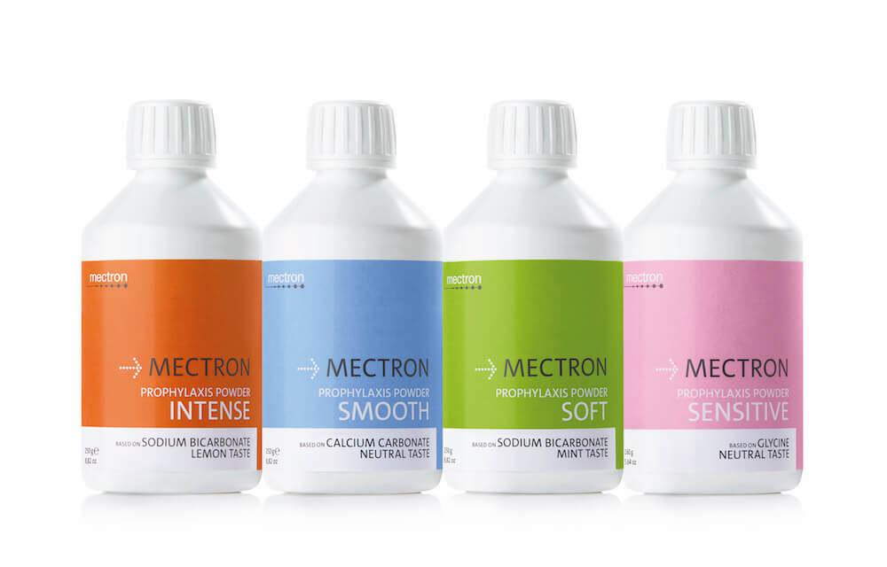 Mectron: Prophylaxis-Powder und Rabatt-Aktionen auf den Fachmessen