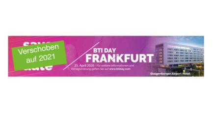6. BTI Day in Frankfurt
