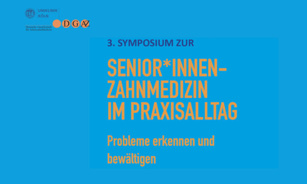 DGAZ: Senioren-Zahnmedizin am Valentinstag in Köln