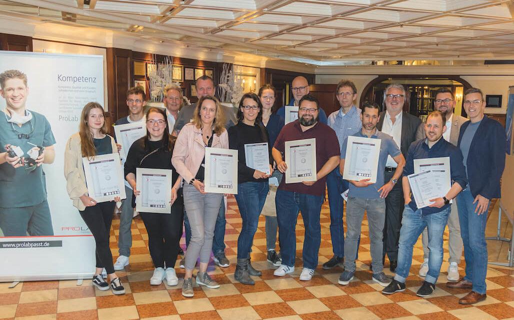 Prolab-Akademie: Abschluss des 15. Curriculums der Implantat-Prothetik