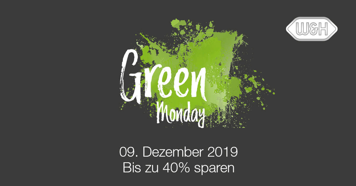 "W & H: Super Aktionen am ""Green Monday""!"