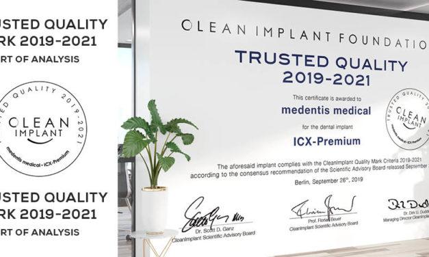 medentis mit dem ICX-Premium System in bester Gesellschaft