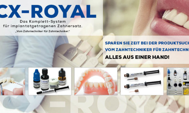 ICX-Royal: Komplett-Systemfür implantatgetragenen Zahnersatz