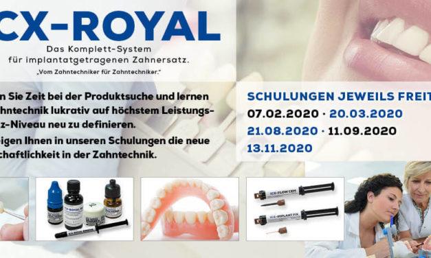 ICX-ROYAL = Zahntechnik – lukrativ wie noch nie!