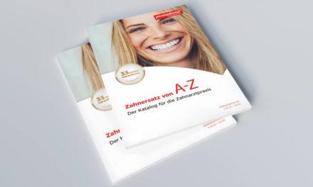 """""""Zahnersatz von A-Z"""": Der Permadental Katalog 2020"""