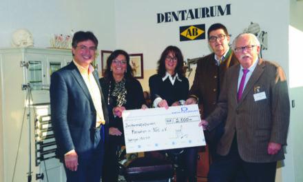 Dentaurum: Spenden, damit geholfen werden kann