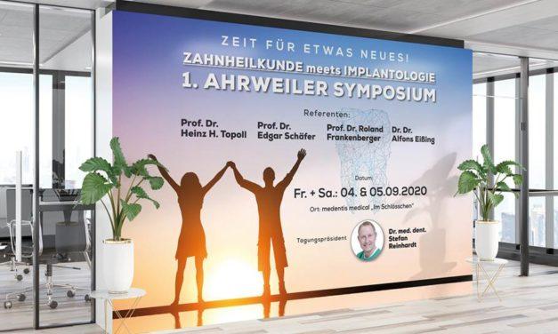 Save the date: 1. Ahrweiler Symposium