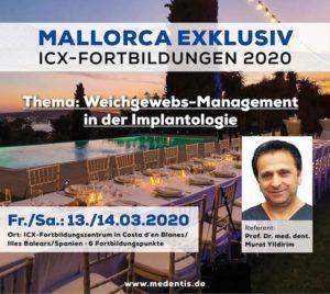 ICX-Mallorca Fortbildung: Nur noch wenige Restplätze frei