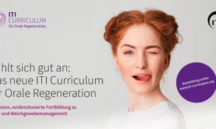 ITI Curriculum für Orale Regeneration ist ausgebucht