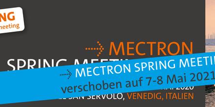Mectron Spring Meeting auf 2021 verschoben