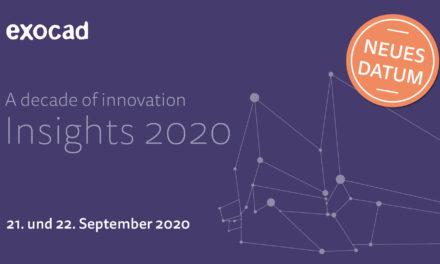 exocad Insights verschoben – Neuer Termin 21. und 22. September 2020