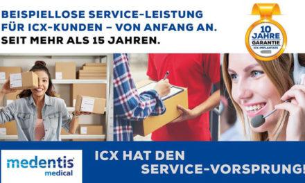 ICX HAT DEN SERVICE-VORSPRUNG!