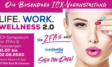 """Symposium für Assistenzen """"ONLY"""": Life, Work, Wellness 2.0 – For ZFAs only!"""