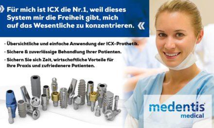 ICX-Implantate und Prothetik – ein Qualitäts-Level, das mehr als nur für sich spricht.