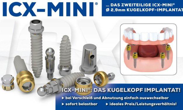 Minimalinvasive OP-Protokoll der ICX-MINI