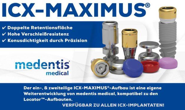 ICX-Maximus System – mit  selbstausrichtenden Design