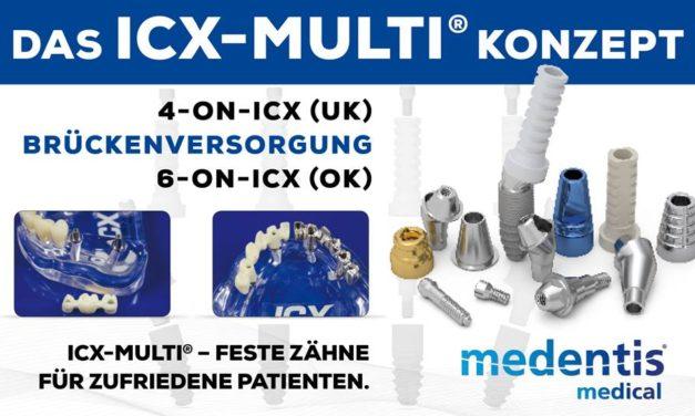 Das ICX-MULTI Konzept: 4-on-ICX und 6-on-ICX