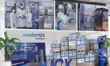 Medentis spendet über 70.000 Schutzmasken für China