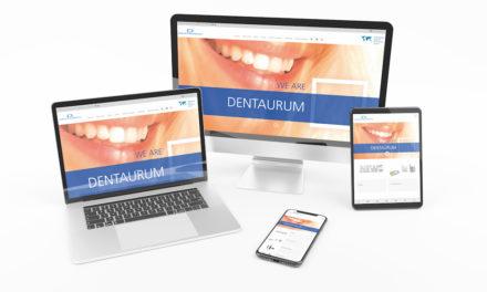 Dentaurum geht mit neuer Website online