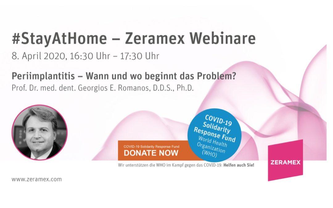 Zeramex Webinar – 8. April 2020