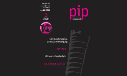pip Ausgabe 2 2020 als e-paper verfügbar