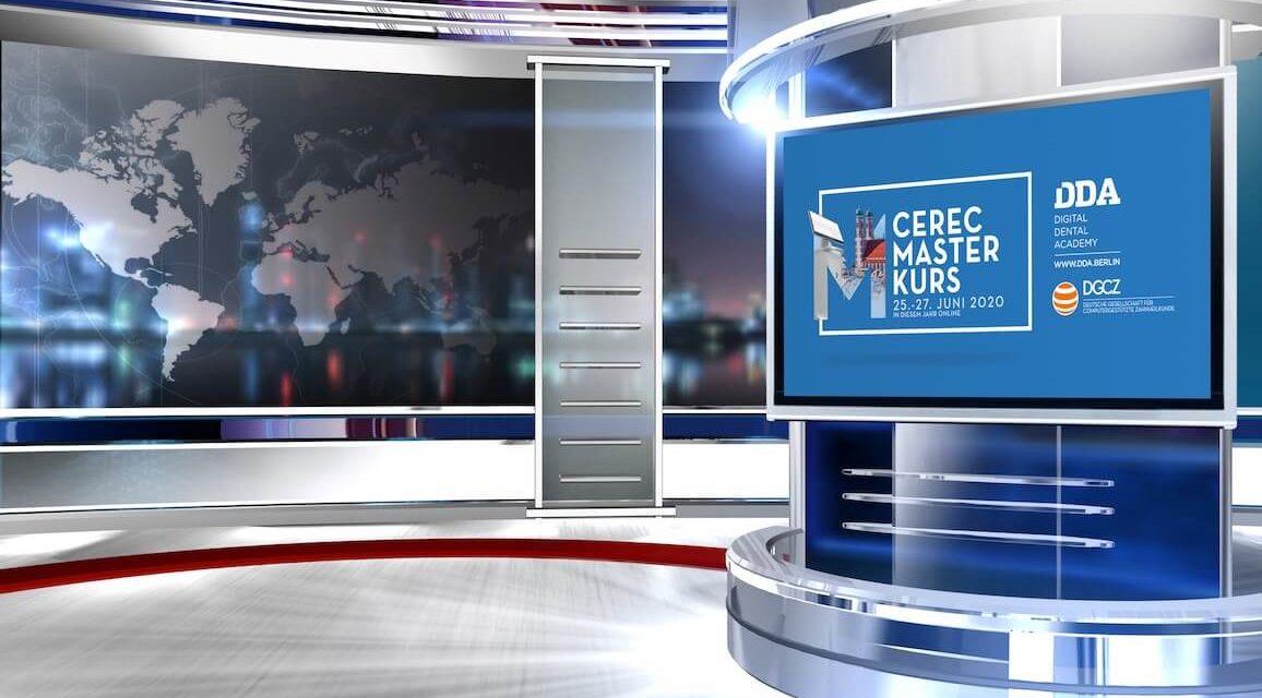 CEREC Masterkurs findet statt:  live, hochaktuell und online!