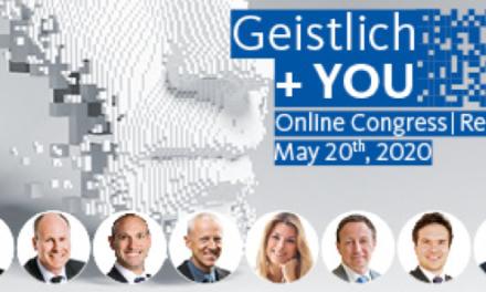 Online-Kongress Geistlich + YOU: 8'500 Teilnehmer befassen sich mit Regeneration