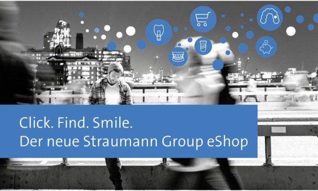 Der neue Straumann Group eShop: Click. Find. Smile.