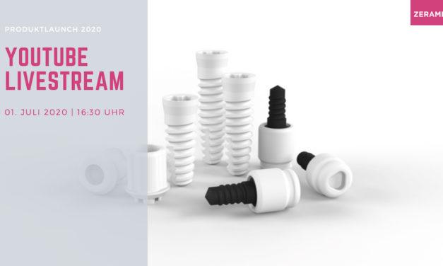 Zeramex Produktlaunch 2020 im Livestream