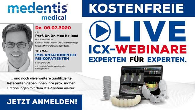 Kostenfreie LIVE ICX-WEBINARE