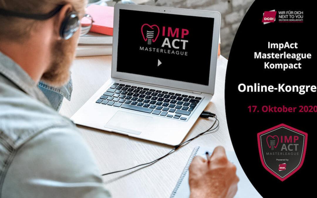 DGOI: Die zweite ImpAct Masterleague findet als Online-Kongress statt