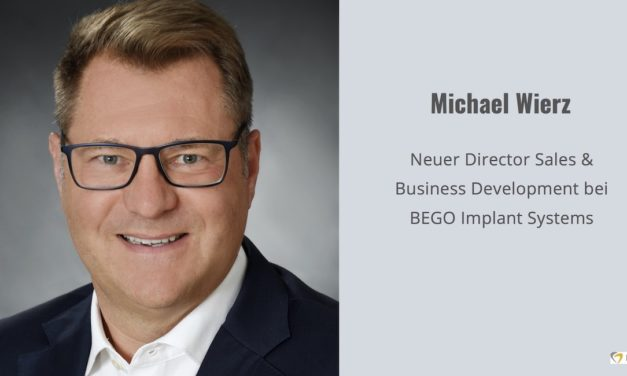 Neuer Director Sales & Business Development DACH bei BEGO Implant Systems